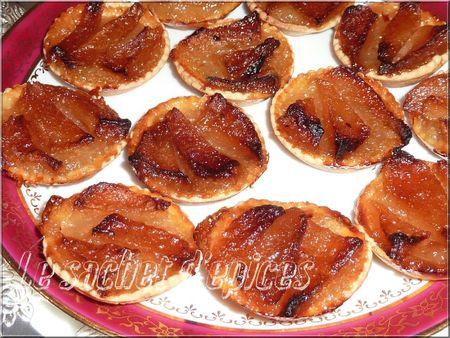 Mini-tartelettes aux poires
