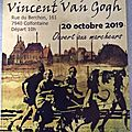 Sunday, 20 october 2019 : tribute tu vincent van gogh in petit-wasmes