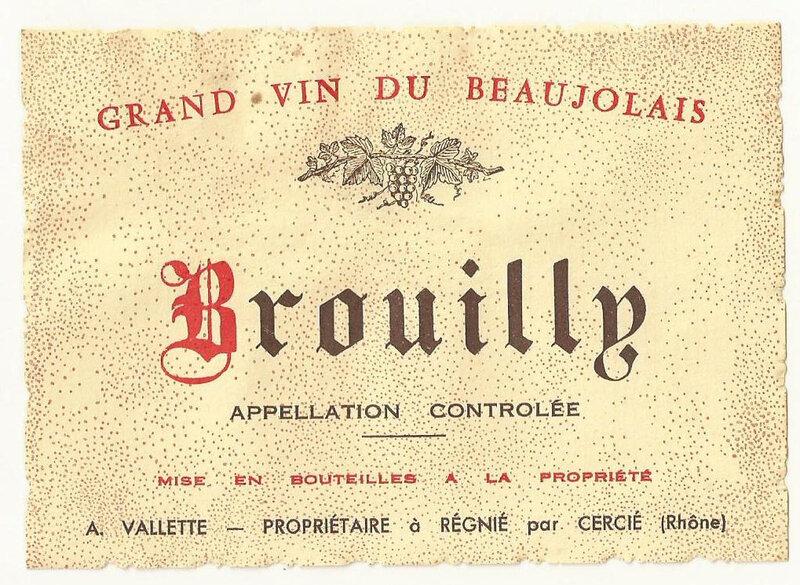 beaujolais brouilly valette