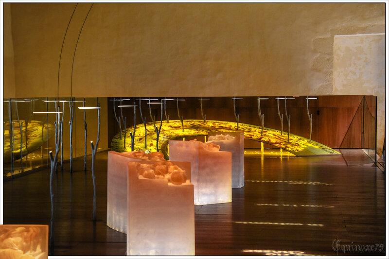 Le dortoir des moines de Nieul sur l'Autize (4)