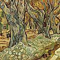 Divisionisme-cloisonnisme 1889_Les paveurs_Van Gogh