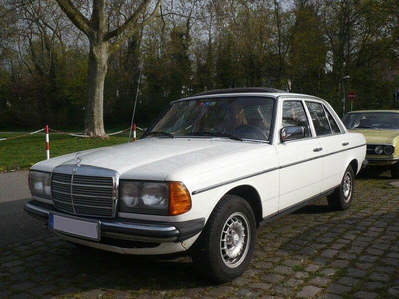 MERCEDES 240 D W123 Ludwigshafen (1)
