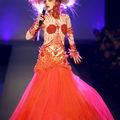 Arielle dombasle @ jean paul gaultier haute couture printemps 2010
