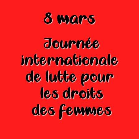 8 marss carré rouge