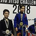 Torino jiu jitsu challenge 2018, aranha montmélian championne !