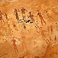 Tassili, Sahara (Afrique)