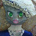 La miss chatoune des annees 1850....