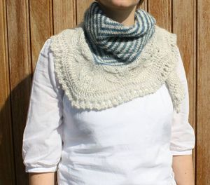 Andrea's shawl / Mars - Mais 2010