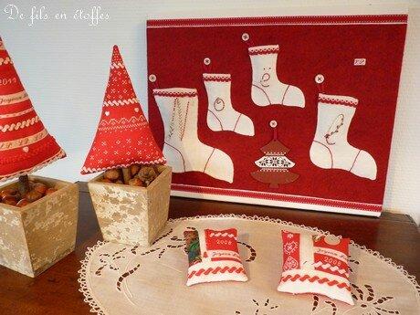 Tableau bottes de Noël 1