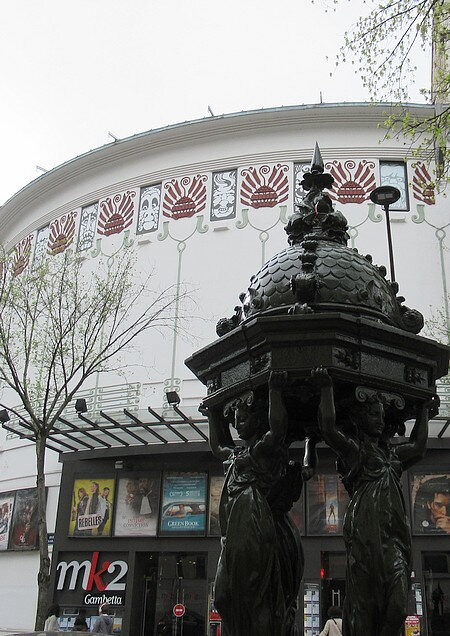 20190324 Paris fontaine Wallace et ciné