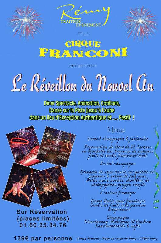 reveillon saint sylvestre en famille original 2017 2018 insolite 31 decembre Seine et Marne 77 Val de Marne 94 Seine Saint Denis 93 nouvel an reveillon best party new year eve