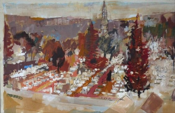 JC Bourgeois le cimetière des chaprais (2)