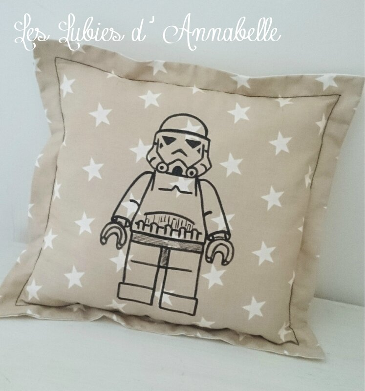 Coussin LEGO STAR WARS SOLDAT DE L'EMPIRE