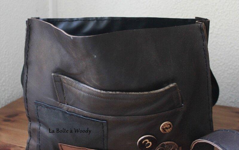Grand sac en cuir 005