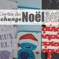 Echange cartes de noël 2015 - #1 : reçues !