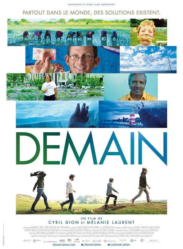 Demain film documentaire Cyril Dion Mélanie Laurent 2015
