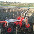 17 avril 2014 - présentation de l'outils equinox pour le travail en vigne (savoie)