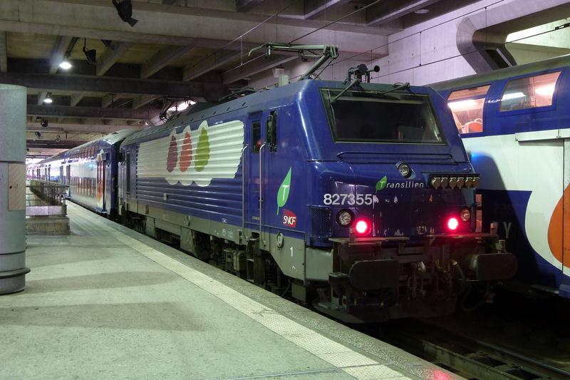 BB 27355 à Montparnasse