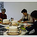Photos atelier découverte du cake design