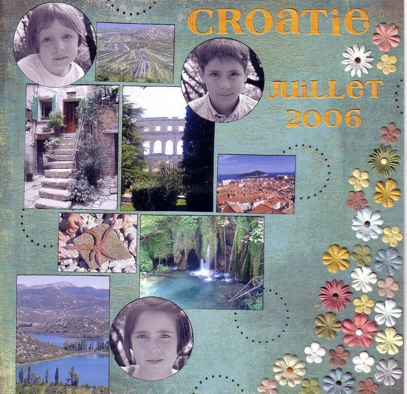 Croatie Juillet 2006