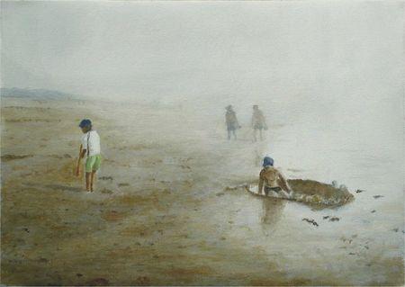 -2011- Brume de mer -42x30-