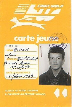 carte de bus à 17 ans