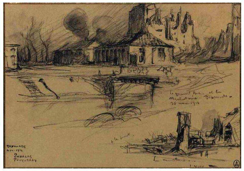 Dixmude2 Fouqueray 1914