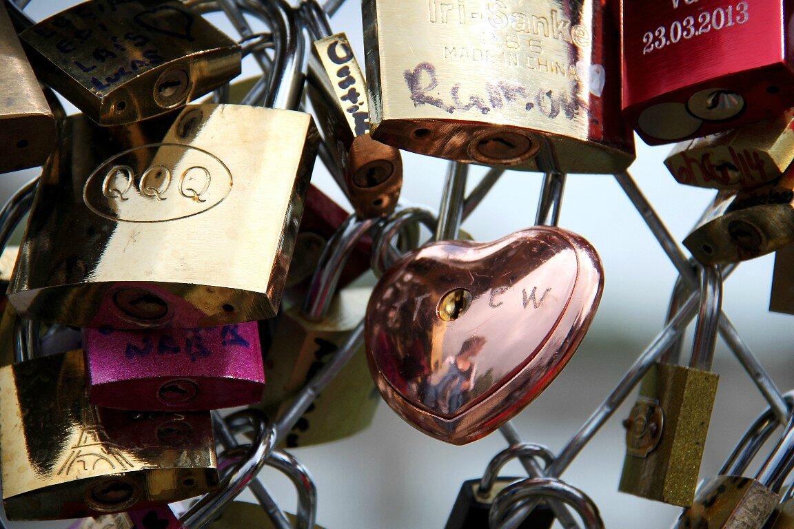 Coeur, Cadenas, Pont des Arts_3341