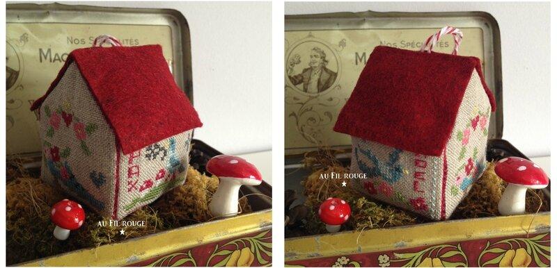 Maison du père Noël détails