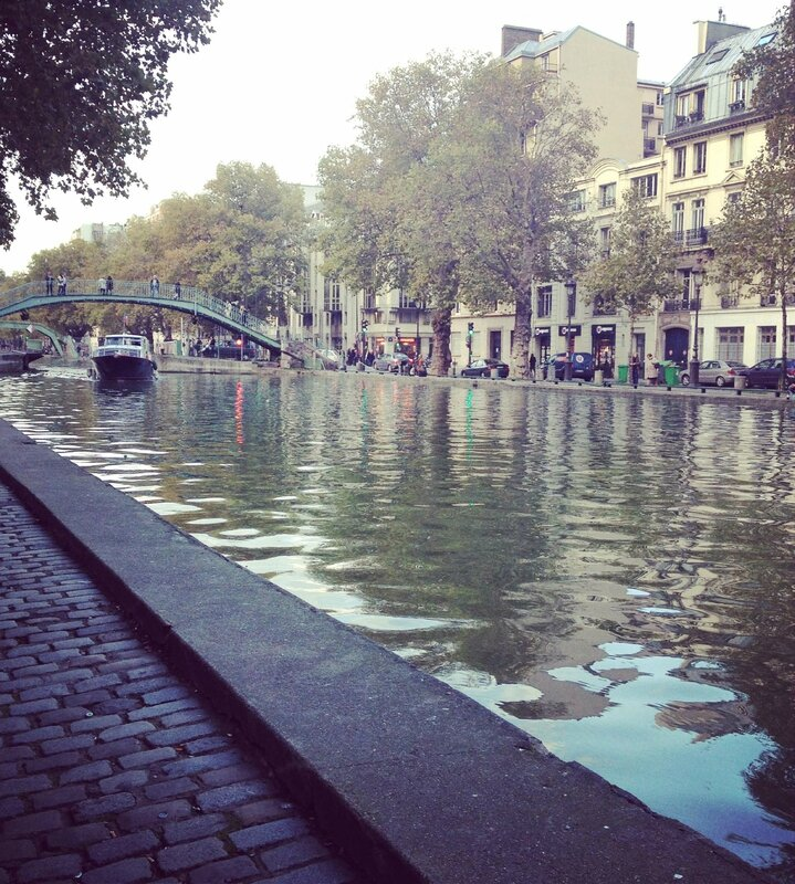 Canal Saint Martin-Paris