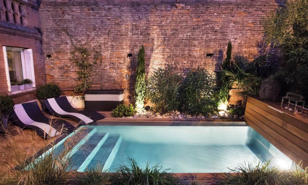 Jardins terrains terrasses petites surfaces extérieures - El ...