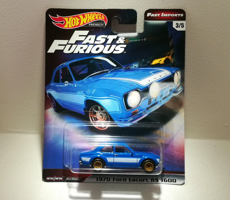 Ford Escort RS1600 de 1970 (Hotwheels) 01