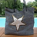 Sac sardine & cie collection star by s & c