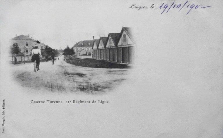 caserne Turenne cpa 1902