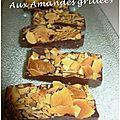 Chocolat noir aux amandes grillées