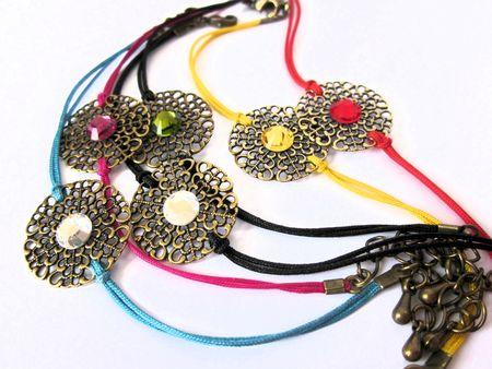 bracelets estampe et cristal 003