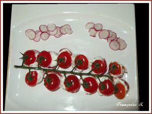 tomates fromage