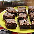 Brownie sans noix
