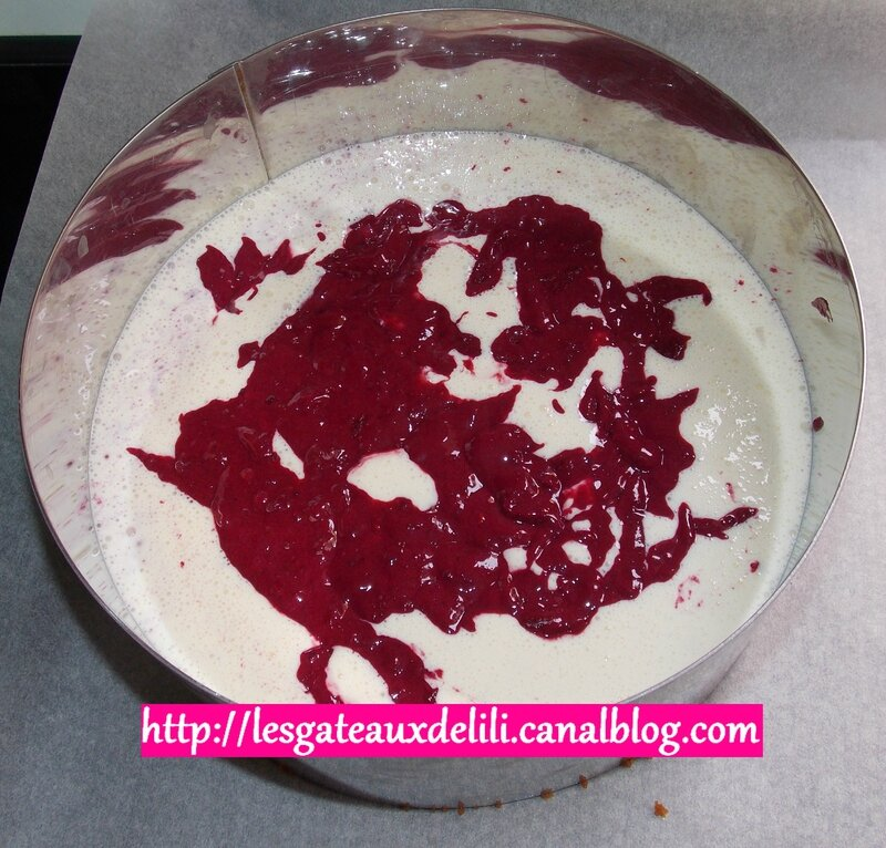 2014 05 22 - Cheesecake fruits rouges (4)