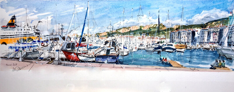 Toulon Quai des Pêcheurs
