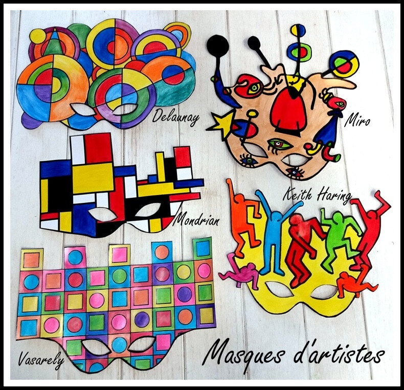 352-MASQUES-Masque Vasarely (26)-002