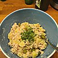 Salade de pommes de terre au thon