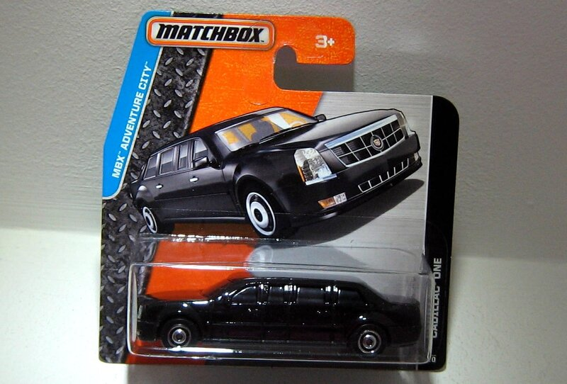 Cadillac one (Matchbox)