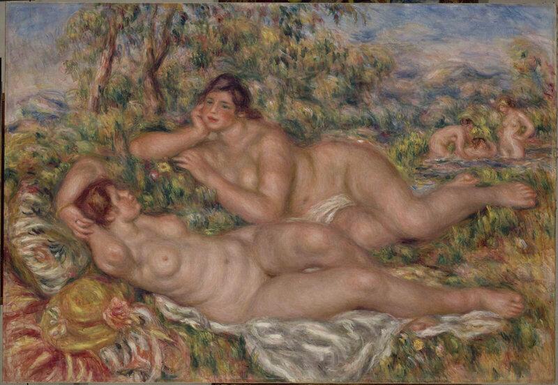 exposition-magritte-en-plein-soleil-musee-de-lorangerie-renoir_les-baigneuses-1600x0