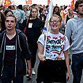 72 b Loi Travail manifestation avec la jeunesse 21 sept 2017