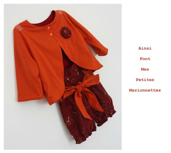 ens boudoir gilet rouge orange 9