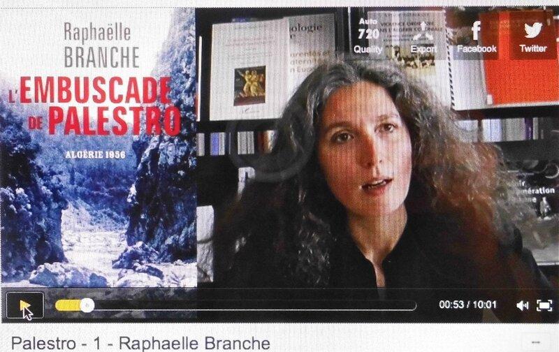 Palestro vidéo Branche