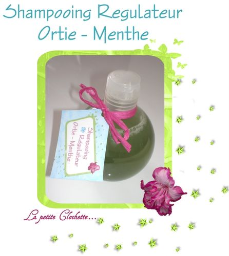 Shampooin Ortie-Menthe