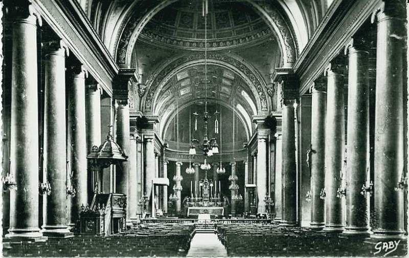Rennes, Cathédrale Saint Pierre, intérieur
