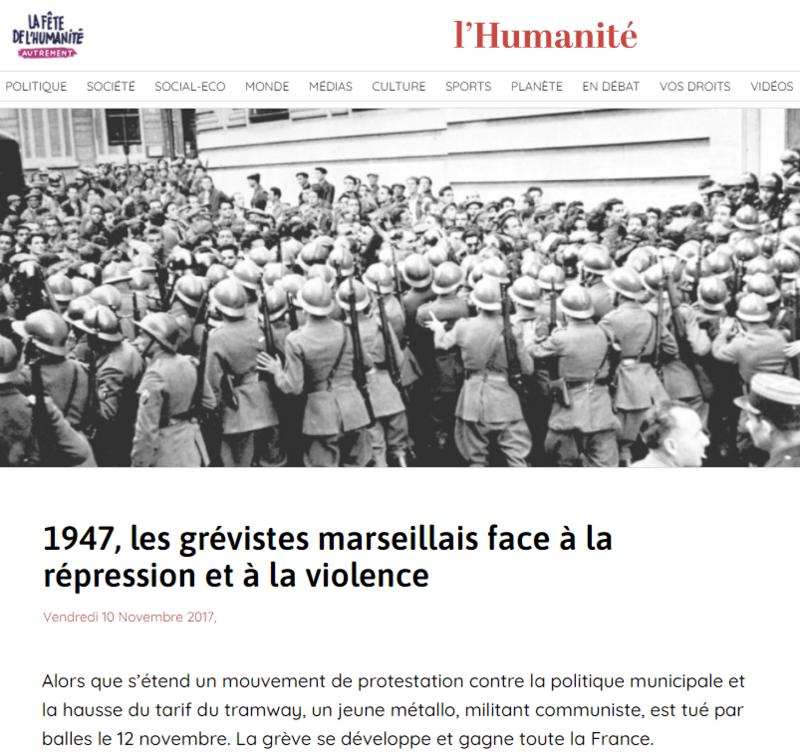 2021-04-12 19_23_21-1947, les grévistes marseillais face à la répression et à la violence _ L'Humani